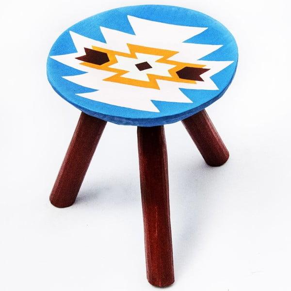 Ručně malovaná stolička Viscri, 28 cm