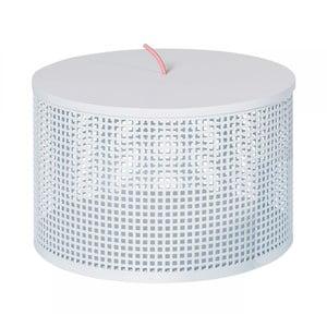 Bílý úložný box OK Design Boite, Ø30cm