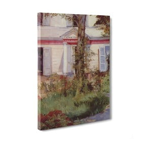Obraz The House at Rueil - Edouard Manet, 50x70 cm