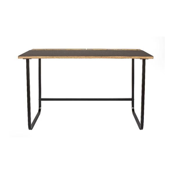 Pracovní stůl s deskou z dubového dřeva Askala Jakala