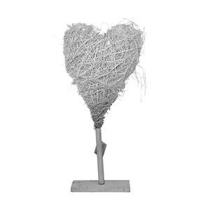 Decorațiune cu LED din răchită Ego Dekor Heart