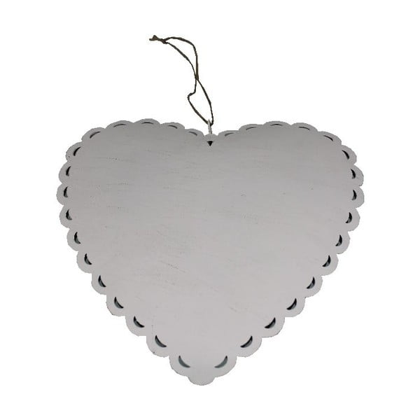Dekorativní srdce Romantic Heart, 19 cm