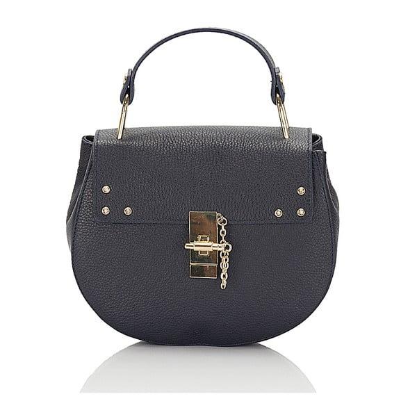Kožená kabelka Giorgio Costa 15011 Blue