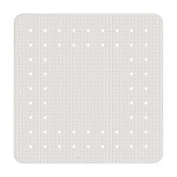 Covor baie anti-alunecare Wenko Mirasol, 54x54cm, alb imagine