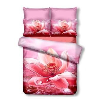 Lenjerie de pat din microfibră pentru pat dublu DecoKing Nectario, 200 x 200 cm de la DecoKing