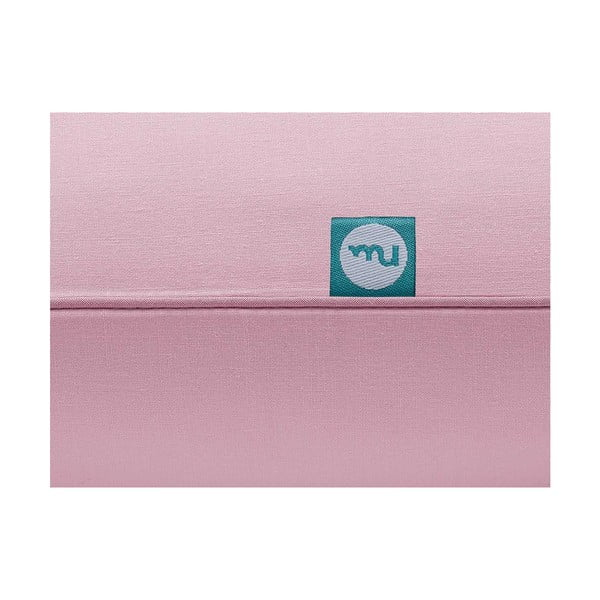 Față de pernă Mumla Basic, 70 x 80 cm, roz