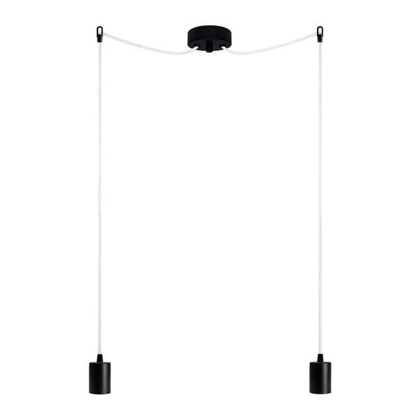 Dvojité závěsné kabely Cero, černá/bílá/černá