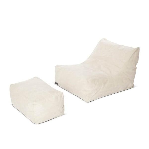 Sedací křesílko Lounge Chair  Club Series, bílý
