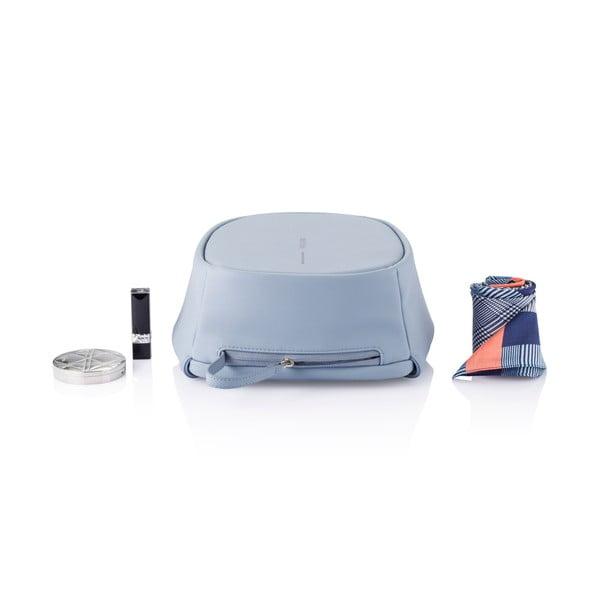 Světle modrý bezpečnostní dámský batoh XDDesign Bobby, 6,5l