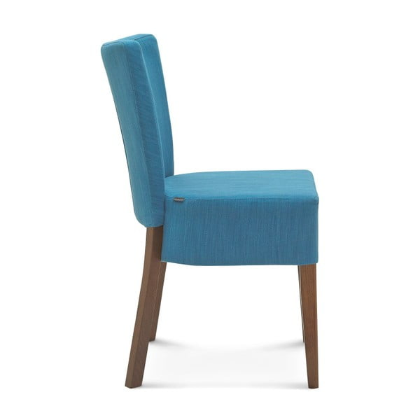 Modrá židle Fameg Aslak