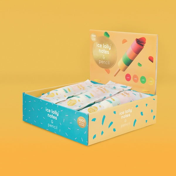 Set blocnotes Luckies of London Ice Lolly