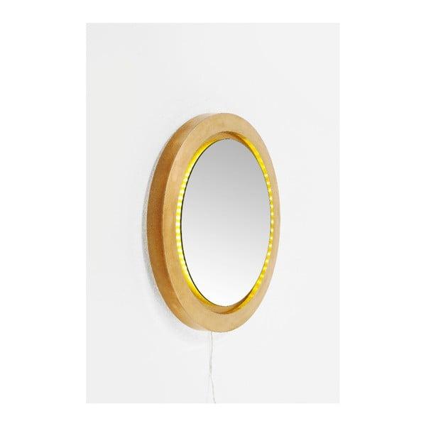 Nástěnné zrcadlo Kare Design Flash LED, Ø60cm