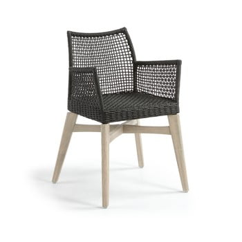 Set 2 scaune La Forma Rodini, gri închis imagine