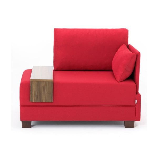 Home Martha piros fotel jobb oldali kartámasszal és italtartóval - Balcab