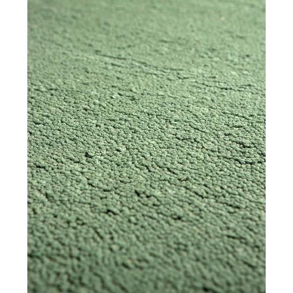 Vlněný koberec Pradera, 120x160 cm, zelený