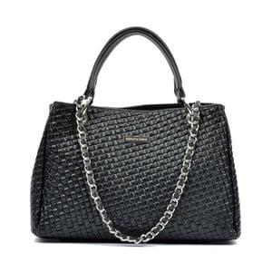 Černá kožená kabelka Renata Corsi Ashley Mento