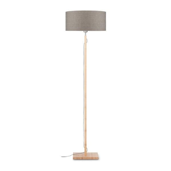Fuji állólámpa bézs búrával és bambusz lámpatesttel - Good&Mojo