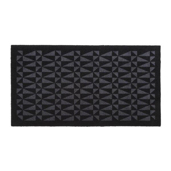 Černošedá rohožka tica copenhagen Graphic, 67x120cm
