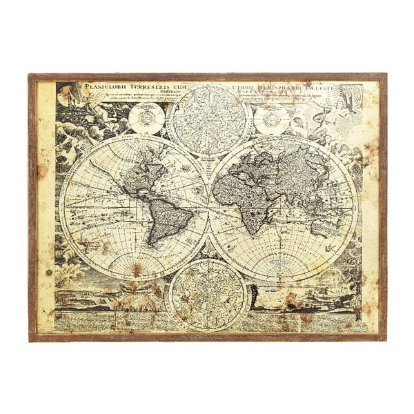 Obraz Map, 80x60 cm