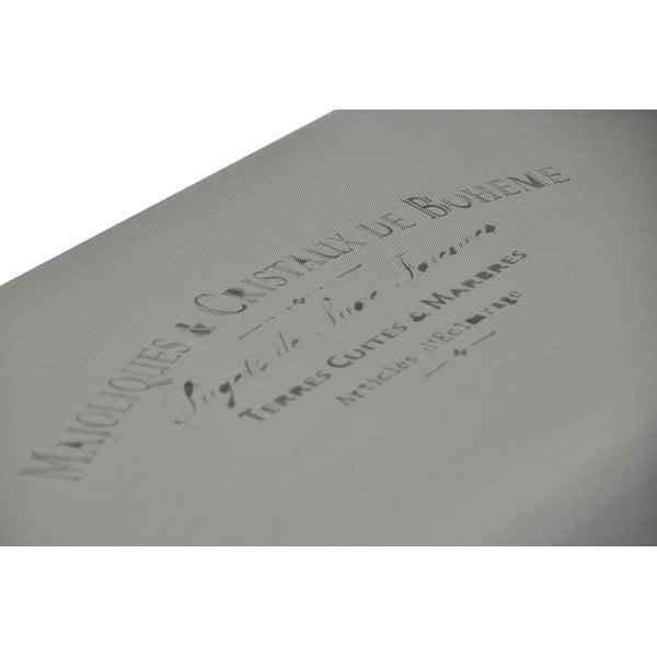 Lavice Paris, šedá