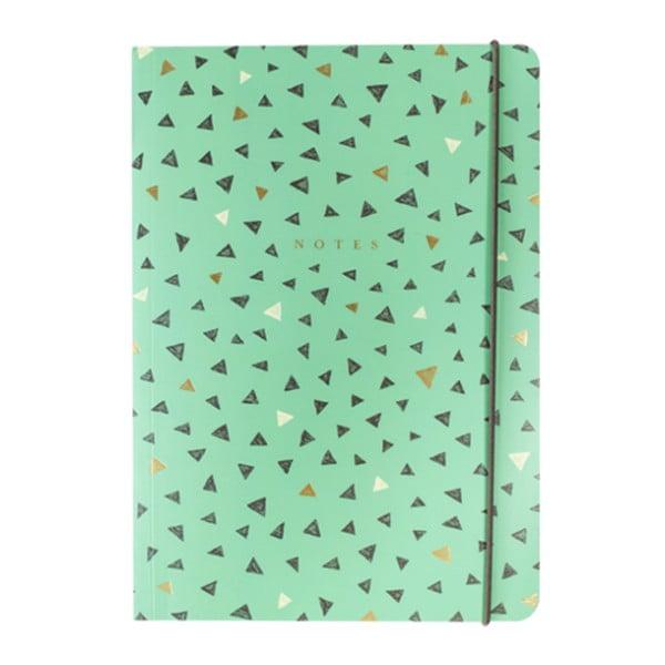 Zápisník Portico Designs Triangles, 160stránek