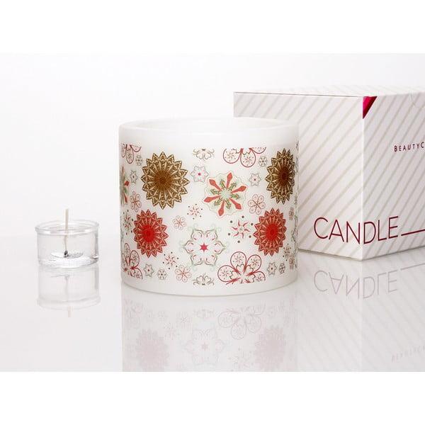 Kruhový svícen na čajovou svíčku Star Flower