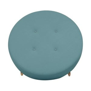 Modrý puf/odkládací stolek Helga Interiors Nolan