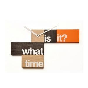 Nástěnné hodiny WhatTime