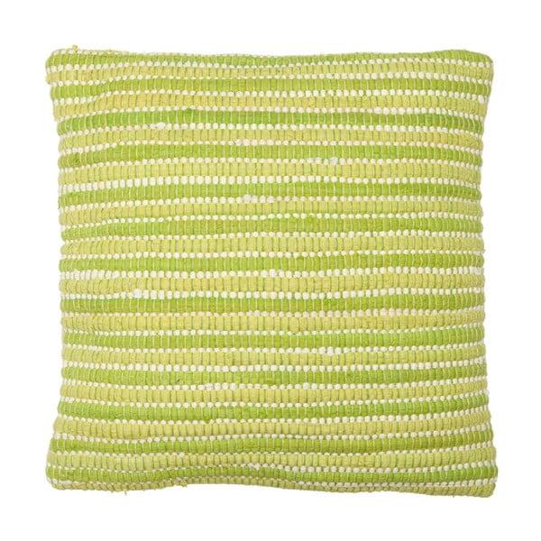 Polštář Green Stripes, 45x45 cm