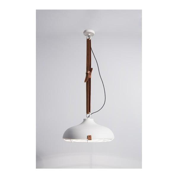 Bílé stropní svítidlo Zuiver Dek, Ø51cm