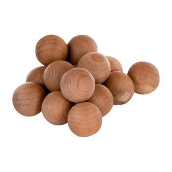 Set 15 bile din lemn de cedru Premier Housewares Cedar Balls de la Premier Housewares