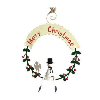 Decorațiune suspendată pentru Crăciun G-Bork Snowman imagine