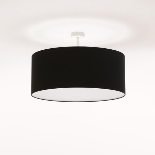 Černé stropní světlo Artist, Ø 60 cm