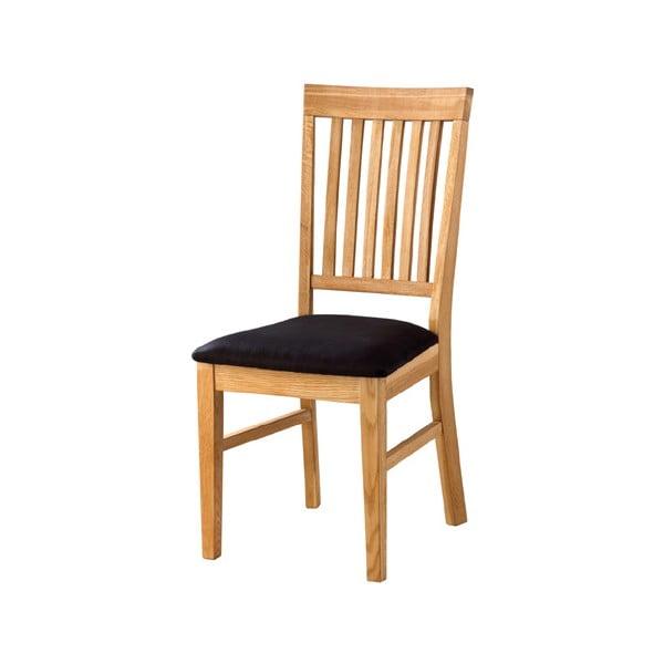 Jídelní židle s polstrovaným sedákem Oiled Oak