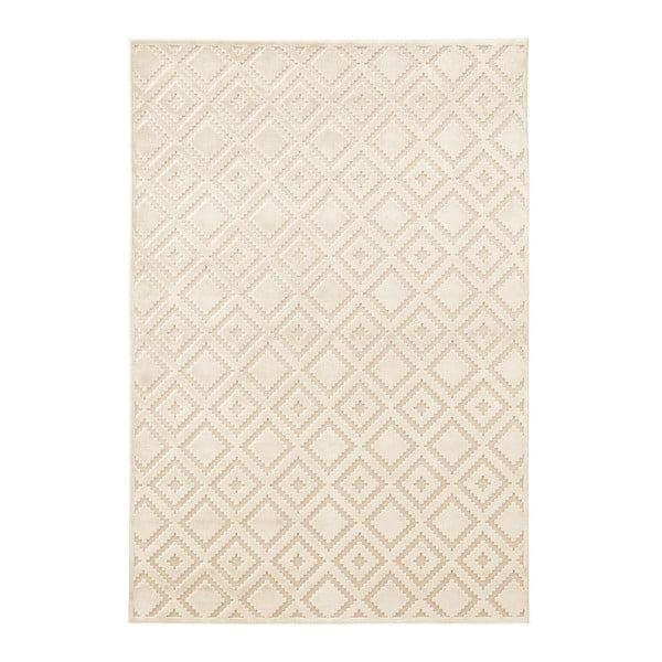 Krémový koberec z viskózy Mint Rugs Iris, 160 x 230 cm
