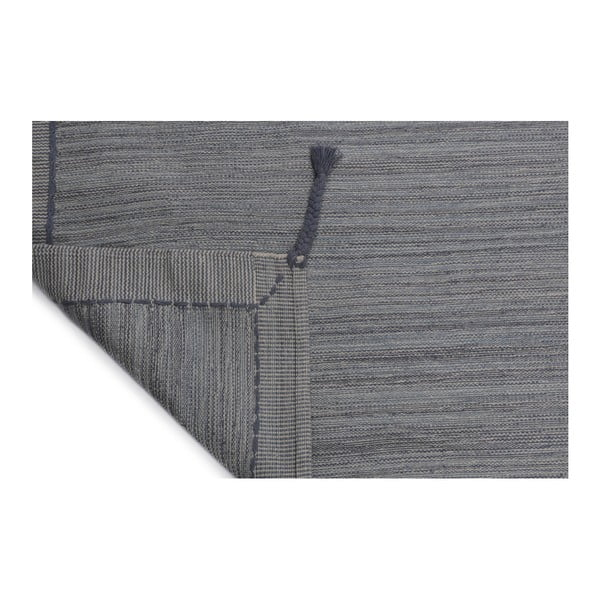 Bavlněný koberec Twist Grey,70x120cm