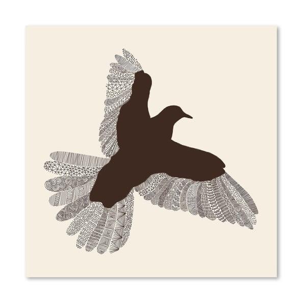 Plakát Bird od Florenta Bodart, 30x30 cm