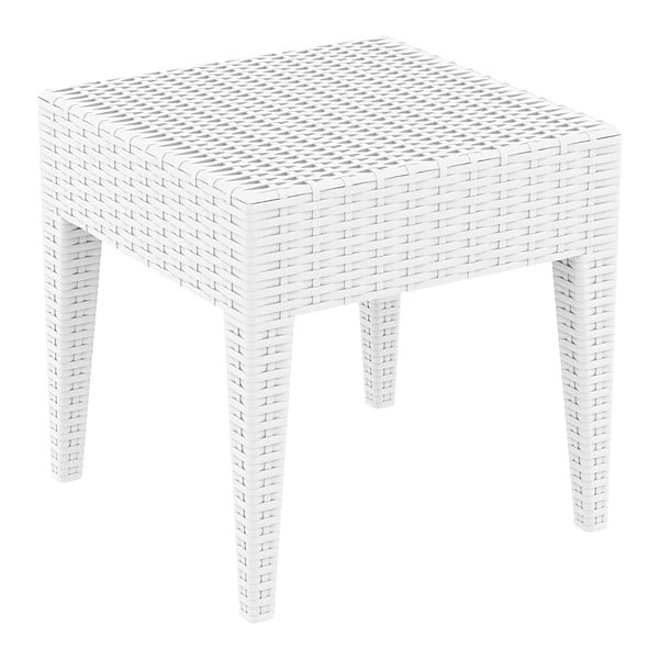 Ipanema fehér kerti tárolóasztal, 45x45 cm - Resol