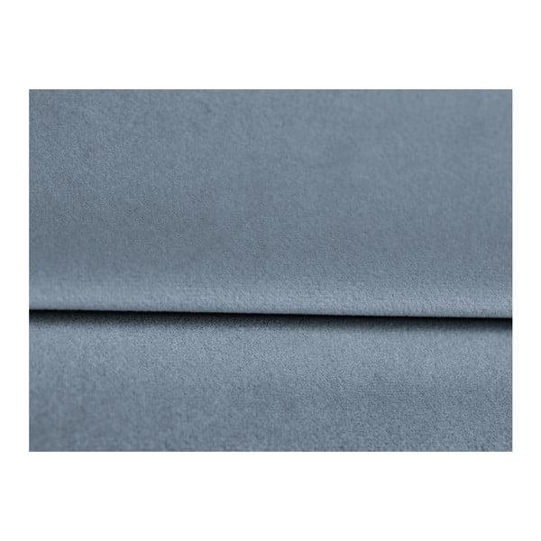 Světle modrá třímístná rozkládací pohovka Mazzini Sofas Marigold