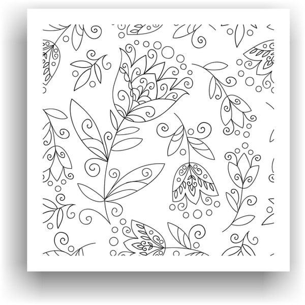 Obraz k vymalování Color It no. 84, 50x50 cm