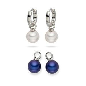 Sada 2 perlových náušnic Nova Pearls Copenhagen Catherin