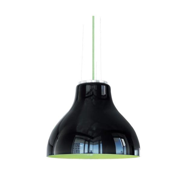 Elegantní stropní lustr Kelby, černý