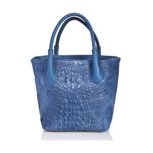 Geantă din piele Massimo Castelli Laurita, albastru