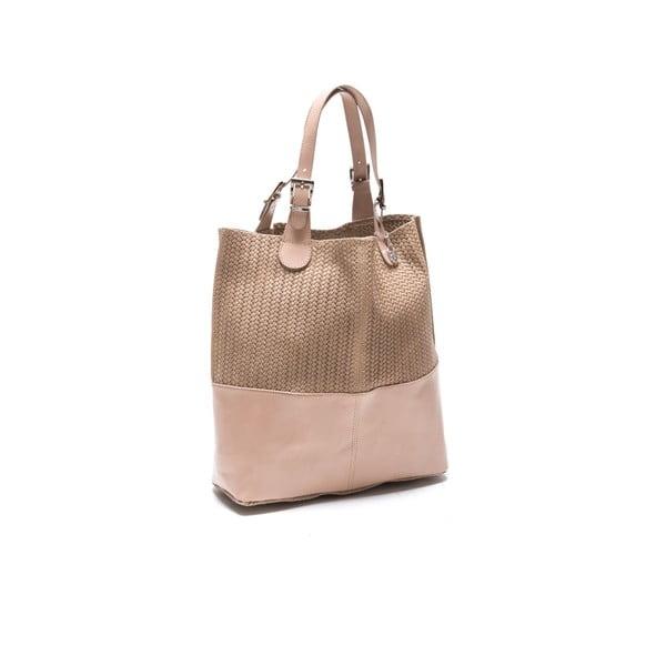 Kožená kabelka Roberta M. 848 Fango