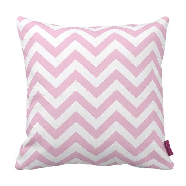 Pernă Homemania Zig Zag Pink, 43 x 43 cm