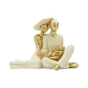 Dekorativní soška s detaily ve zlaté barvě Mauro Ferretti Family