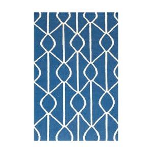 Vlněný koberec Kilim No. 186, 90x150 cm