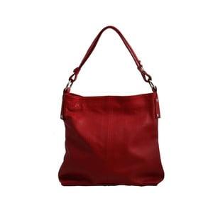 Červená kabelka z pravé kůže GIANRO' Rehearse