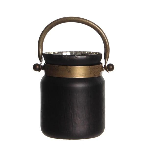 Stojan na svíčku Kito Black Mat, 18 cm