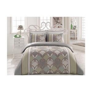 Lenjerie de pat cu cearșaf Afitap, 200 x 220 cm